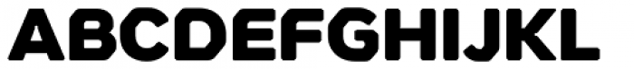 Meccanica Black Font UPPERCASE