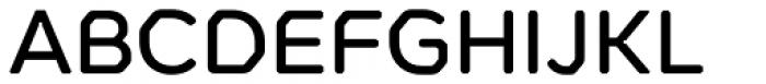 Meccanica Medium Font UPPERCASE