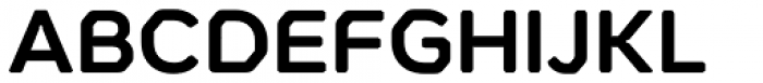 Meccanica Semi Bold Font UPPERCASE
