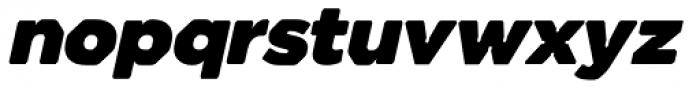 Meccanica Ultra Oblique Font LOWERCASE
