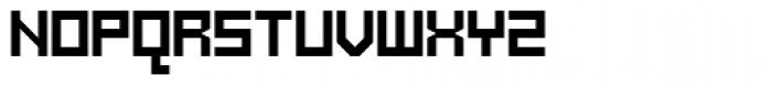 Mechanikschrift Font UPPERCASE