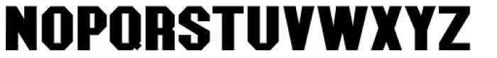 Mechanized JNL Font UPPERCASE