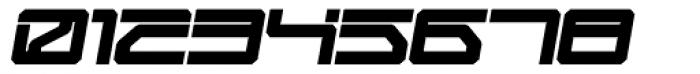 Mechwar Bold Oblique Font OTHER CHARS
