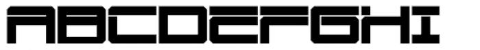 Mechwar Bold Font UPPERCASE