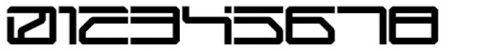 Mechwar Regular Font OTHER CHARS