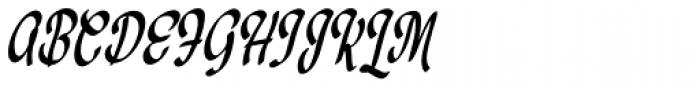 Medalist Font UPPERCASE