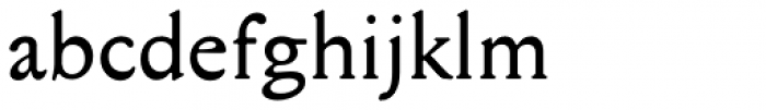 Mediaeval Font LOWERCASE
