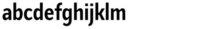 Mediator Condensed Bold Font LOWERCASE