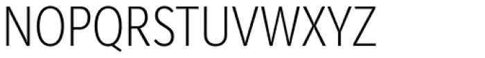 Mediator Condensed Extra Light Font UPPERCASE