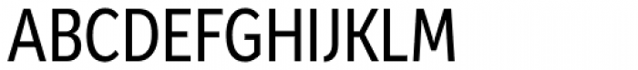 Mediator Condensed Font UPPERCASE