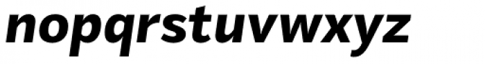 Mediator Extra Bold Italic Font LOWERCASE