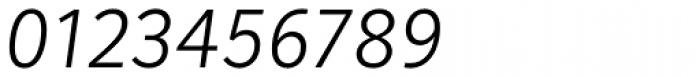 Mediator Light Italic Font OTHER CHARS