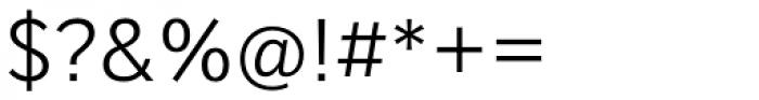 Mediator Light Font OTHER CHARS