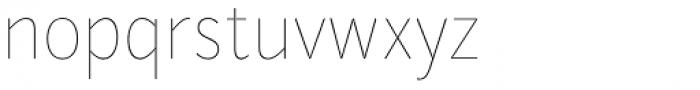 Mediator Narrow Thin Font LOWERCASE