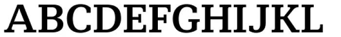 Mediator Serif Bold Font UPPERCASE