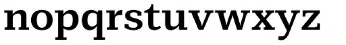 Mediator Serif Bold Font LOWERCASE