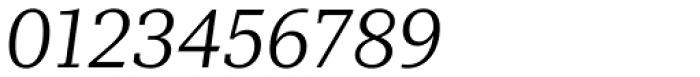 Mediator Serif Light Italic Font OTHER CHARS