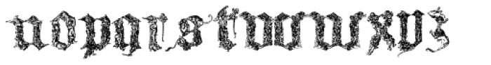 Medieval Times Font UPPERCASE