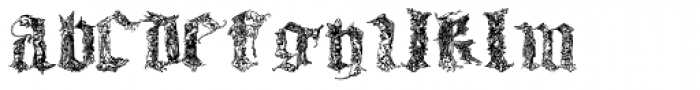 Medieval Times Font LOWERCASE