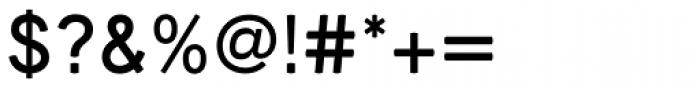 Medina Gothic Regular Font OTHER CHARS