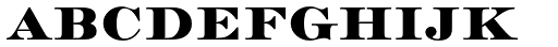 Medoc Font LOWERCASE