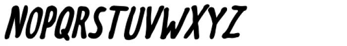 Meep Bold Italic Font UPPERCASE