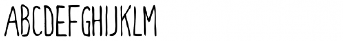 Meep Light Font UPPERCASE
