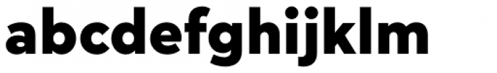 Megabyte Black Font LOWERCASE
