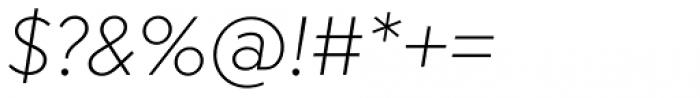 Megabyte Light Italic Font OTHER CHARS