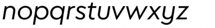 Megabyte Regular Italic Font LOWERCASE