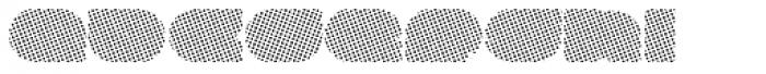 Megatropolis Benday Font LOWERCASE
