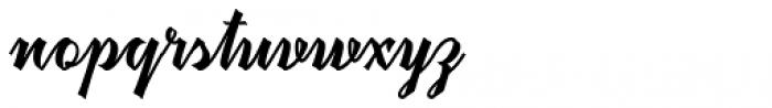 Megawatt Regular Font LOWERCASE