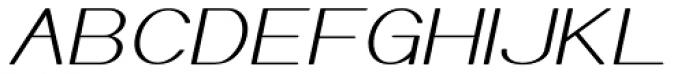 Meichic Exp Oblique Font UPPERCASE