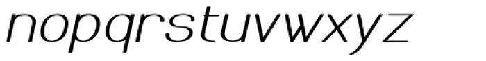 Meichic Exp Oblique Font LOWERCASE