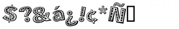 Mejicana Font OTHER CHARS