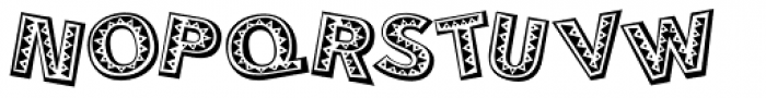 Mejicana Font UPPERCASE