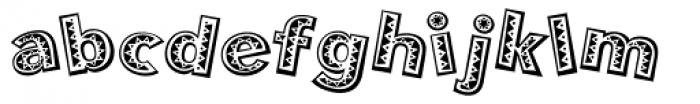 Mejicana Font LOWERCASE