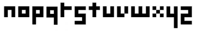 Mekanek Font LOWERCASE