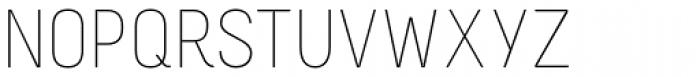Melbourne Light Font UPPERCASE
