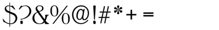 Melbourne Serial Light Font OTHER CHARS