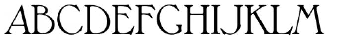 Melbourne Serial Light Font UPPERCASE