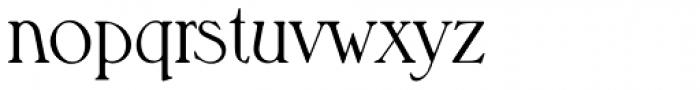 Melbourne Serial Light Font LOWERCASE
