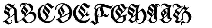 Melcheburn Font UPPERCASE