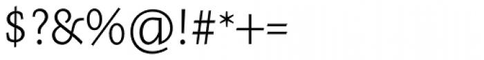 Meleo Light Font OTHER CHARS