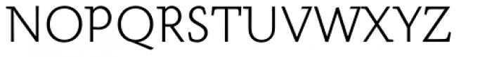 Meleo Light Font UPPERCASE
