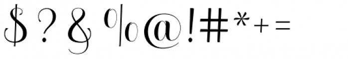 Melisenda Script Regular Font OTHER CHARS