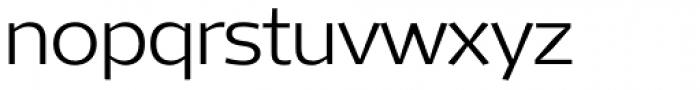Mellnik ExtraLight Font LOWERCASE