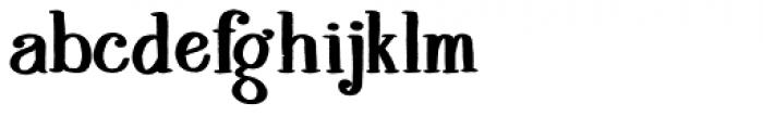 Melloner  Bold Font LOWERCASE