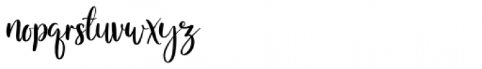 Melloner  Regular Font LOWERCASE