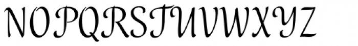 Melody Font UPPERCASE